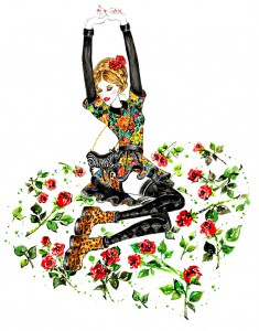 Arty Farty Fashion Friday: Five inspiring fashion illustrators